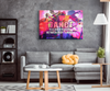 "Image of Canvas Wall Decor: ""Dance Is A Conversation Between Body & Mind"""