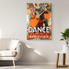 "Image of Canvas Wall Decor: ""Dance is Music Made Visible"""