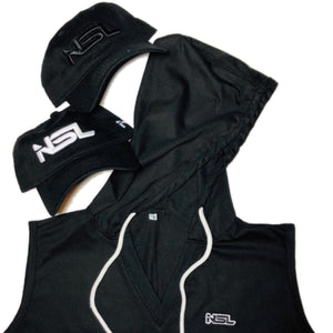NSL Sleeveless Hoodie (Unisex Available in 4 colors) - NSLGear.com