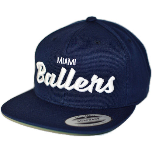 NSL TEAM HAT 1006 MIAMI BALLERS™ (available in 3 colors) - NSLGear.com