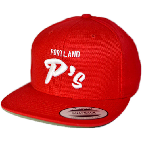 NSL TEAM HAT 1004 PORTLAND P's™ (available in 3 colors) - NSLGear.com