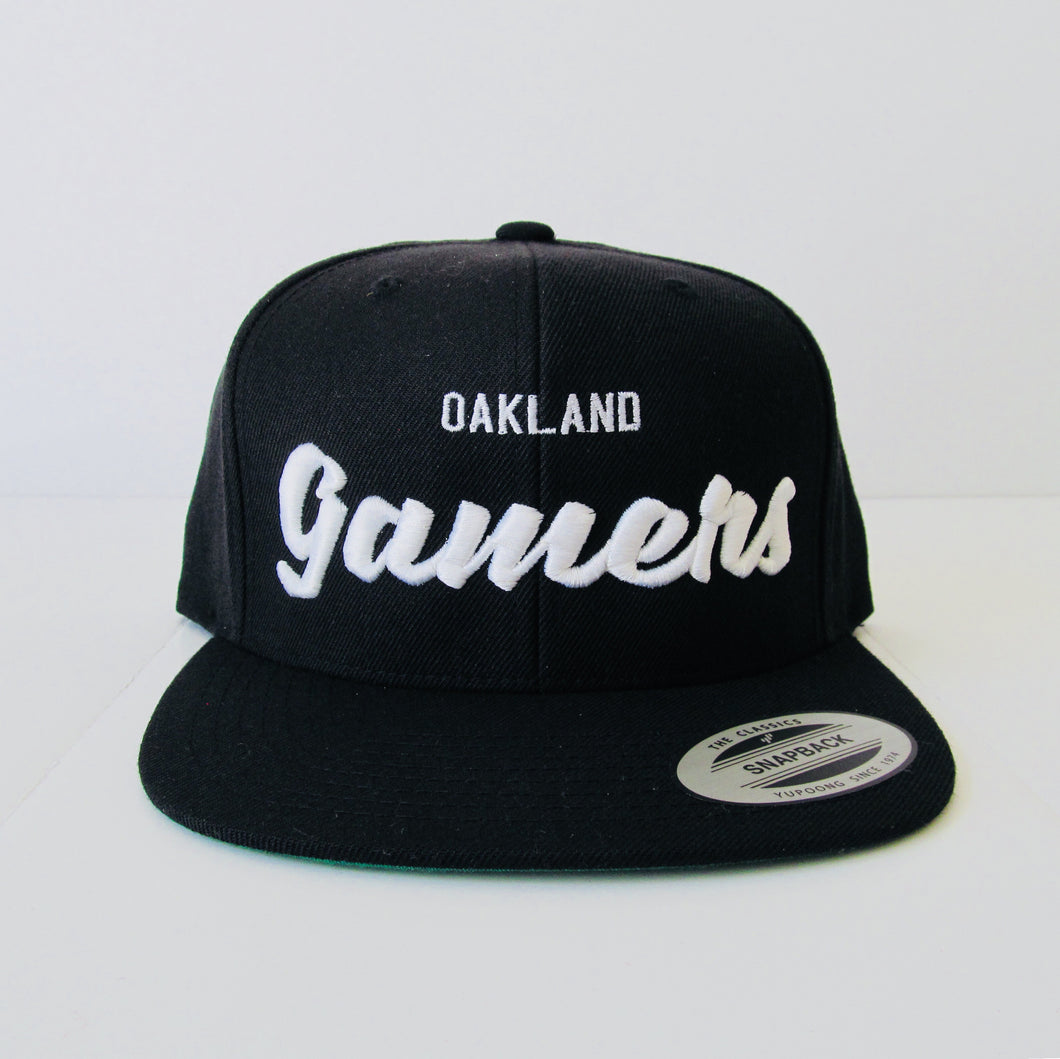 NSL TEAM HAT 1002 OAKLAND GAMERS™ (available in 4 colors) - NSLGear.com
