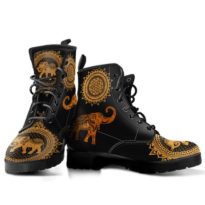 Gold Elephant Boots