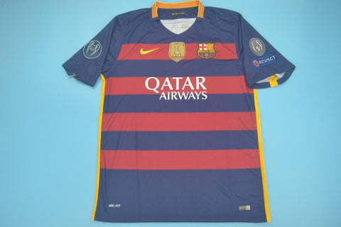 15/16 Barcelona Champions League Jersey