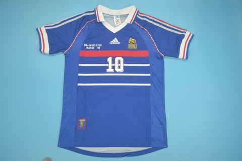 1998 France World Cup Final Retro Jersey