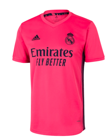 20/21 Real Madrid Away Jersey