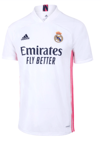 20/21 Real Madrid Home Jersey