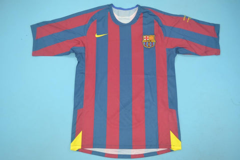 2006 Barcelona Retro Champions League Jersey