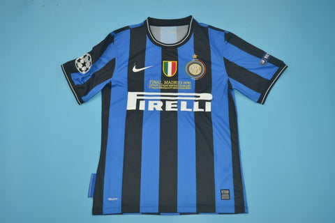 2010 Inter Milan Retro Champions League Final Jersey