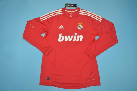 2011-2012 Real Madrid Long Sleeve Retro Third Jersey