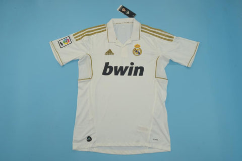2011-2012 Real Madrid Retro Home Jersey