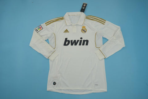 2011-2012 Real Madrid Short Sleeve Retro Home Jersey
