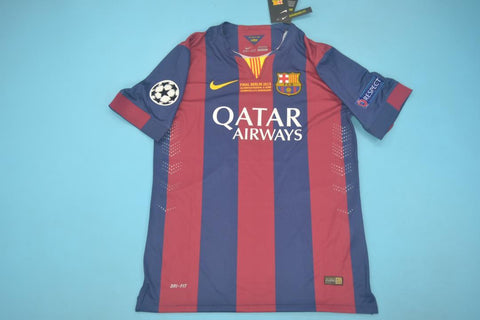 2015 Barcelona Champions League Final Jersey