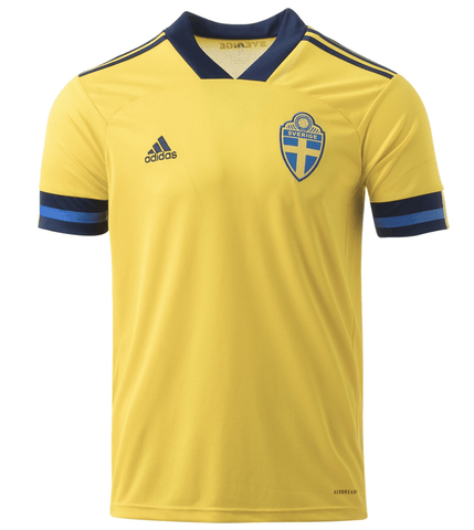 2020 Euro Sweden Home Jersey