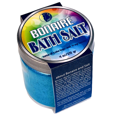 Bath Salt 4 oz Container