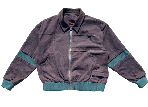 Cordy Jacket - Teal/Prey