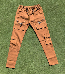 Pincer Cargo Pants - Tobacco