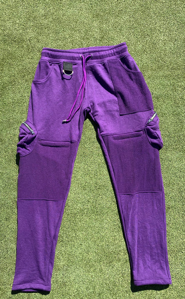Kanki Sweatpants - Purple