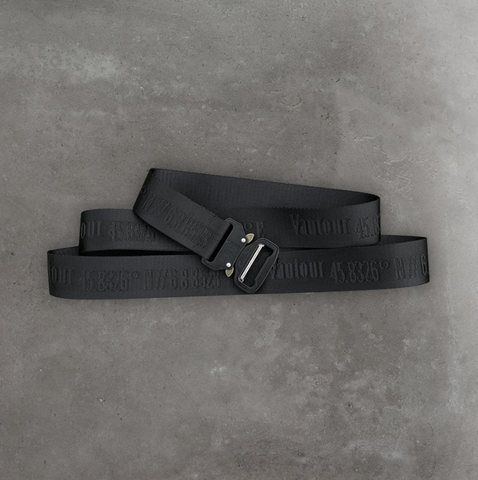 Blacked Out Location Belt