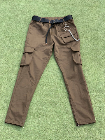 Light End Cargo Pants - Brown