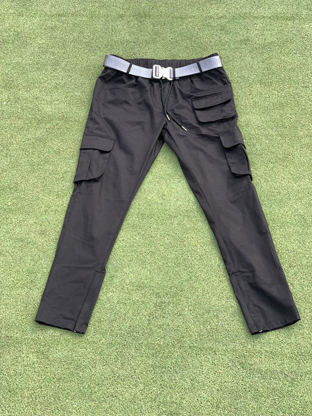 Light End Cargo Pants - Black
