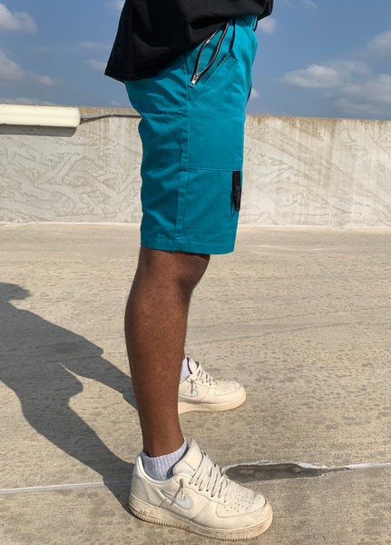 Pinch Cargo Shorts - Blue Raspberry