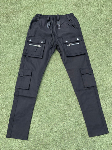 Pincer Cargo Pants - Black