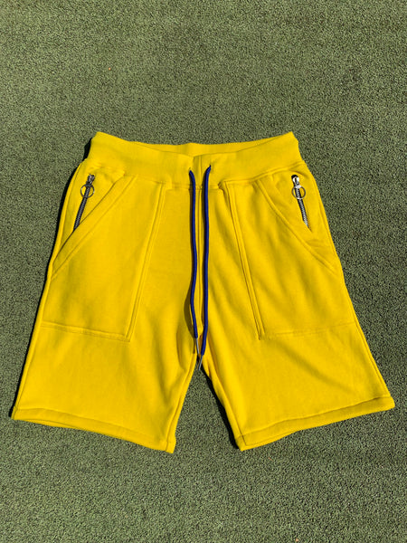 Triste SweatShorts - Yellow