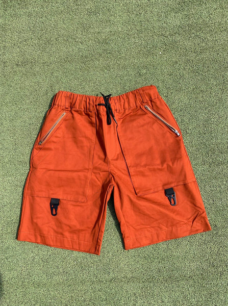 Pinch Cargo Shorts - Burnt Orange