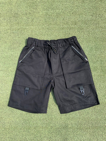 Pinch Cargo Shorts - Blacked Out