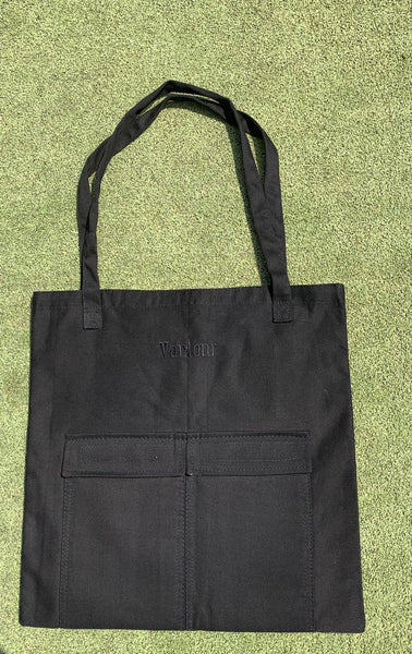 Grid Birds Tote Bag