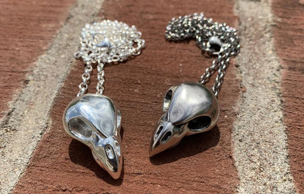 Vulture Skull Necklace