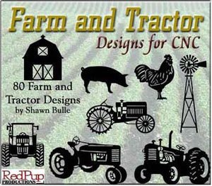 Farm and Tractor Designs - Dxf Files