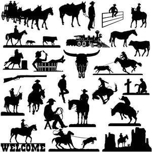 Way Out West Designs - Dxf Files