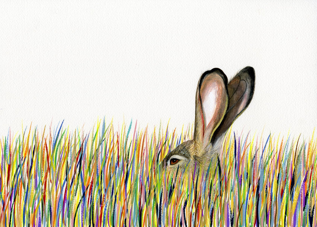 Lagomorph Prints by Carrie Marill