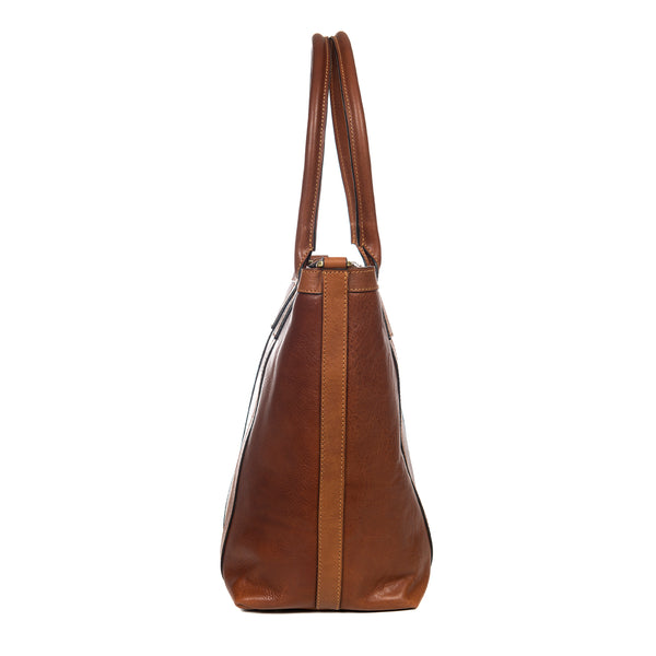 Brown Small Tote