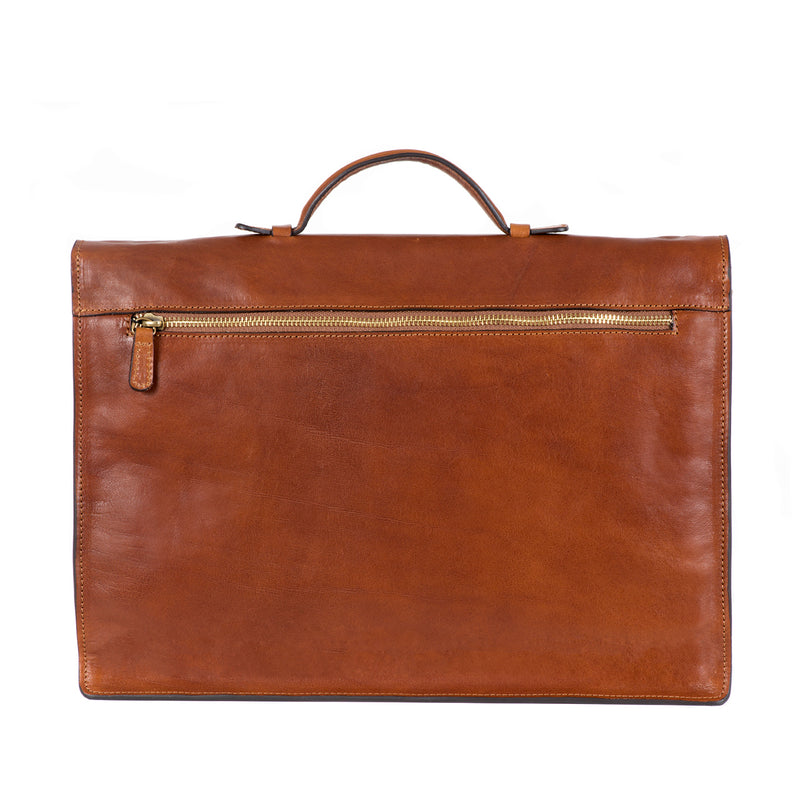 Small Brown Briefcase