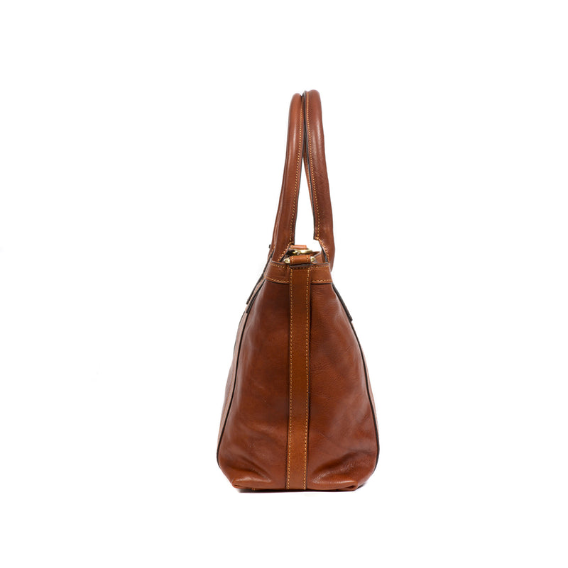 Brown Mini Tote