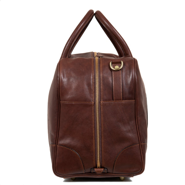 Dark Brown Travel Bag