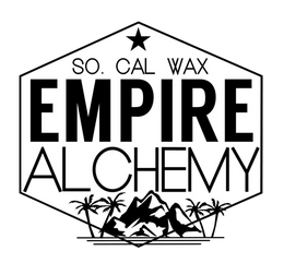 empire alchemy wax logo southern california wax melts