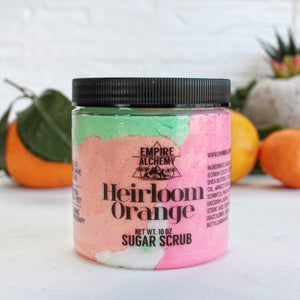 HEIRLOOM ORANGE- Sugar Scrub Ready-To-Ship - The Grove Collection
