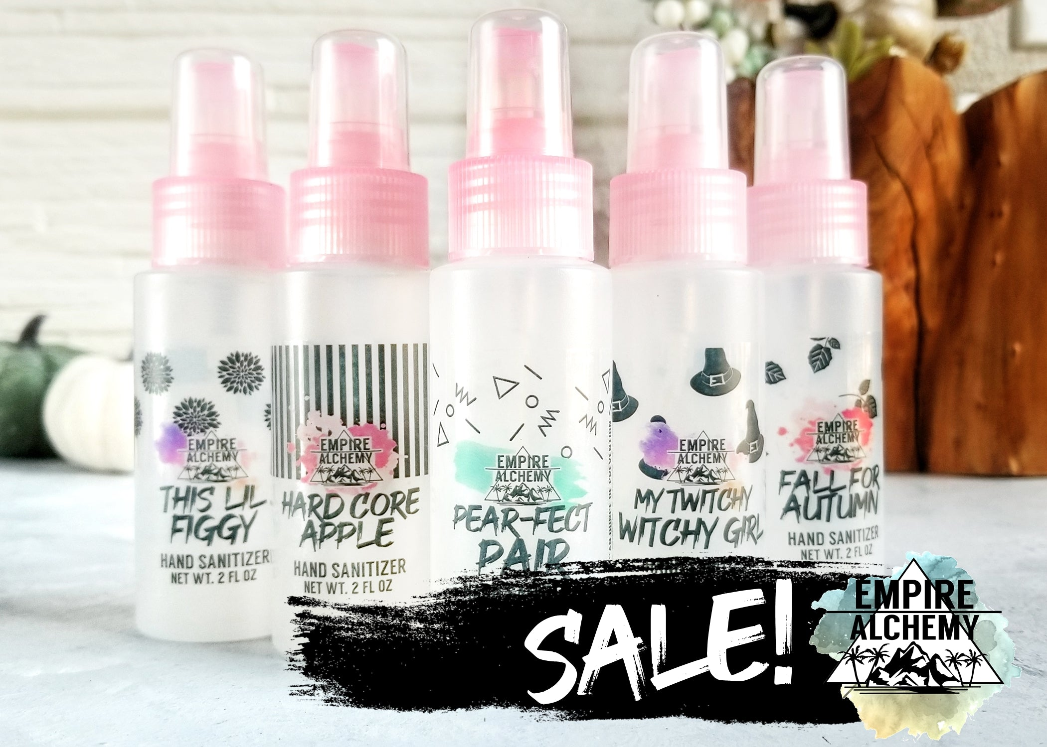TWITCHY WITCHY GIRL Hand Sanitizer SPRAY 2 oz Ready-To-Ship