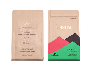 """Perla Negra"" Cascara from Costa Rica - Coffee Fruit Tea (18 tea bags)"