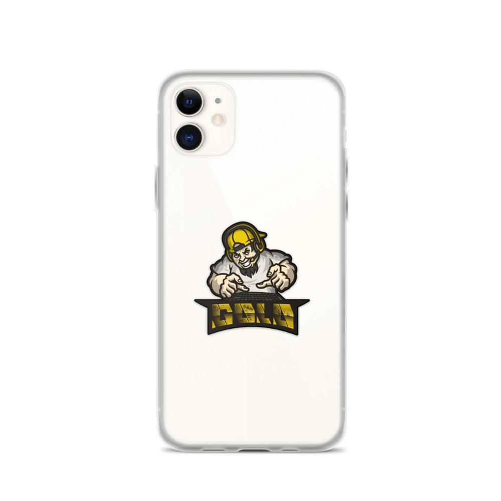 Ev0z_Gold iPhone Case