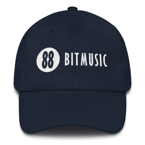 88bitmusic Logo Dad Hat