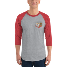 Pocket Gnome 3/4 Sleeve Baseball Tee