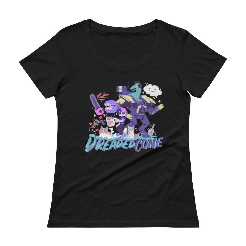 DreadedCone Meme Ladies Tee