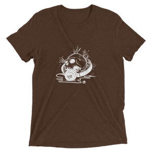 Headphone Skull Premium Tee
