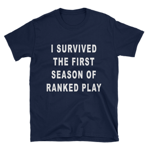 I Survived Two Sided Tee