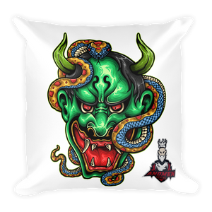 Green Demon Pillow